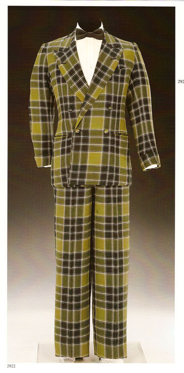 Duke of Windsor Tartan Evening suit