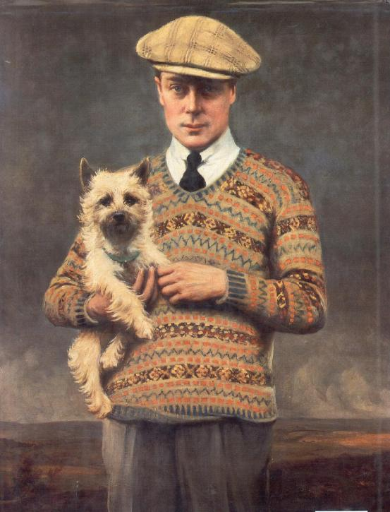 Edward, Prince of Wales in a Soft Cap