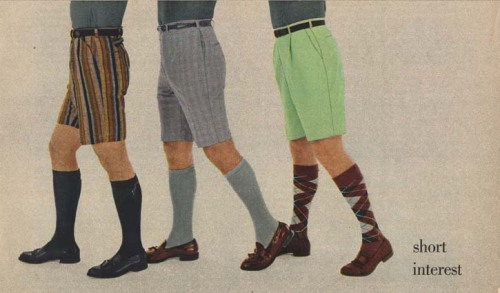 Esquire fashion 1956 shorts