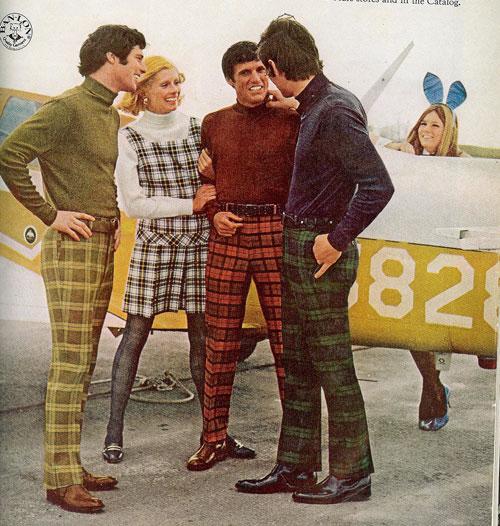 tartan menswear fashion bad pants