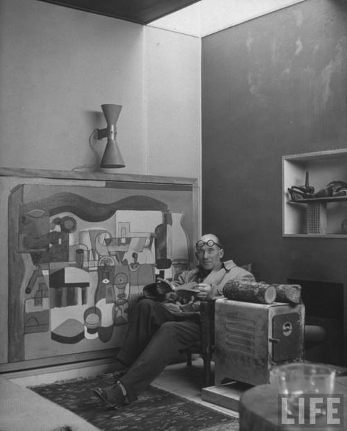 Le Corbusier, Paris, France 1965.