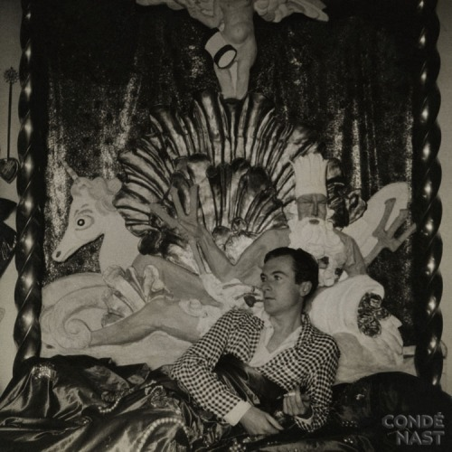 Cecil Beaton-- Lounging Lizard.