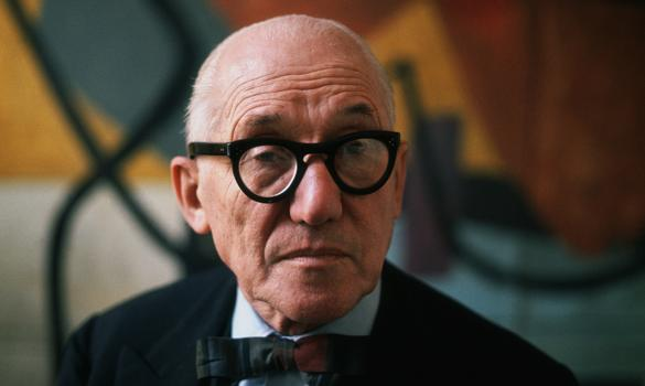 Portrait of the noted swiss architect urbanist and interior designer
