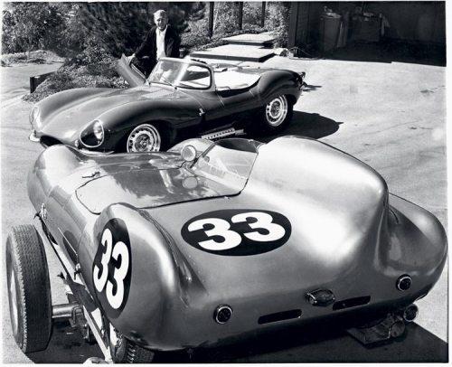Steve McQueen's Jaguar XKSS & Lotus 11