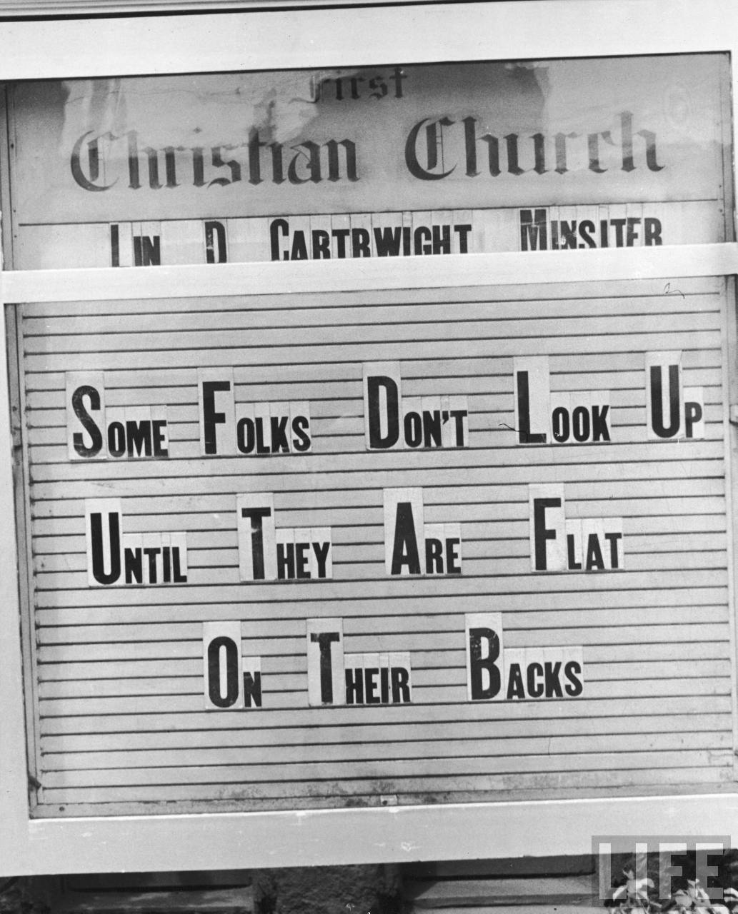 Church Sign Quotes Vintage Southern Living  An Appreciation For History Tradition
